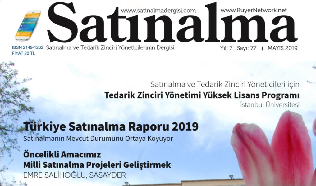SASAYDER, Satınalma Dergisinde