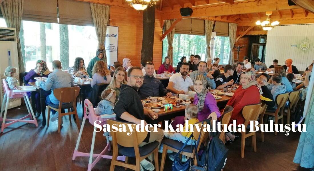 Sasayder, Aile kahvaltısında buluştu